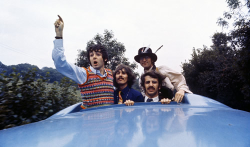 The Beatles Classic 1967 Film ' The Magical Mystery Tour' Restored for DVD